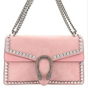 GUCCI Dionysus Crystal Pink Shoulder Bag